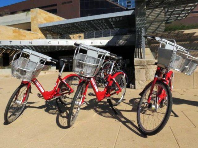 Bike sharing arrives in the Capital City this December.