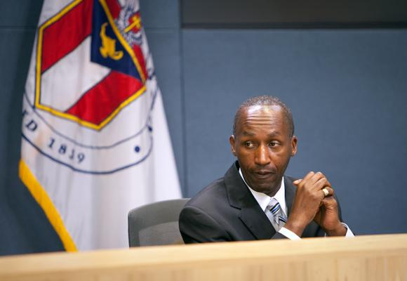 Austin City Manager Mact Ott, seen in a 2011 photo.