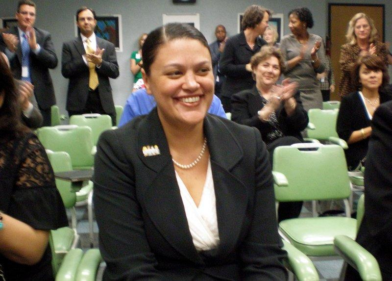 AISD Superintendent Meria Carstarphen received a glowing evaluation from the Austin School Board last night. They praised her for improving graduation rates and keeping a balanced budget.