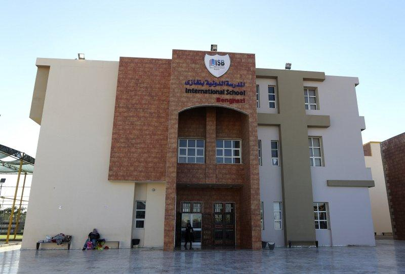 The International School Benghazi, photographed Dec. 5, 2013. Gunmen shot dead an American chemistry teacher working at the international school, medical and security sources said on Thursday.