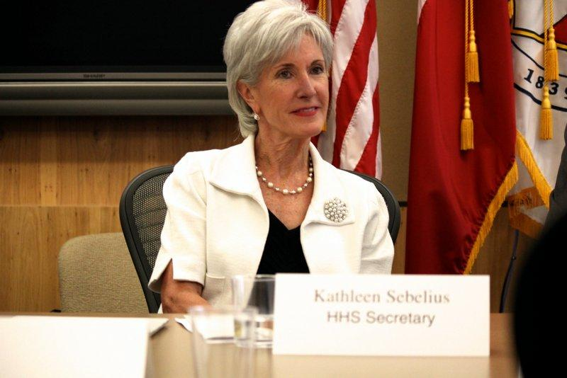 U.S. Health and Human Services Department Secretary Kathleen Sebelius discussed the Affordable Care Act in Austin on Aug. 8, 2013.