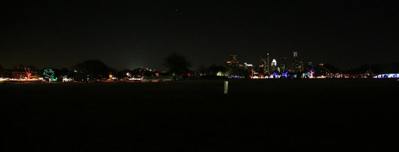 Along with the 1.25 mile Trail of Lights, the 155-foot Zilker Christmas Tree returns each year.