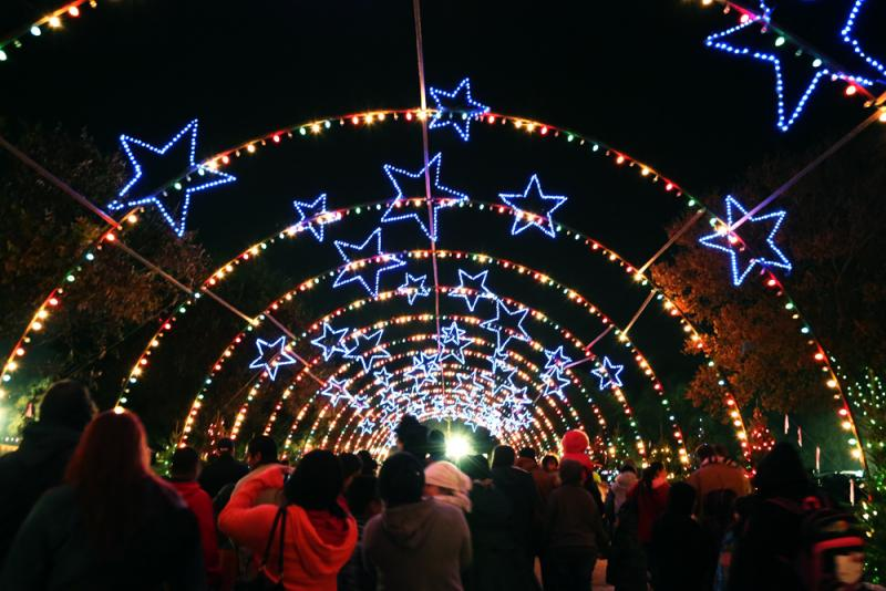 Austin's Trail of Lights celebrates its 49th edition this year. The holiday trail is free and open to the public until next Sunday, Dec. 22.