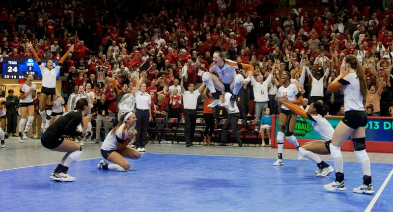 UT Volleyball defeated Nebraska on Saturday to move on to the Final Four for the fifth time in six years.