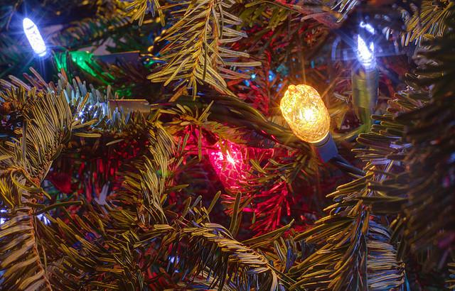 Trimming the tree? Be sure to replace any string of lights with worn or broken cords or loose bulbs.