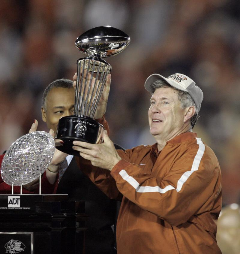 Texas won the national title game in the final seconds, 41-38.