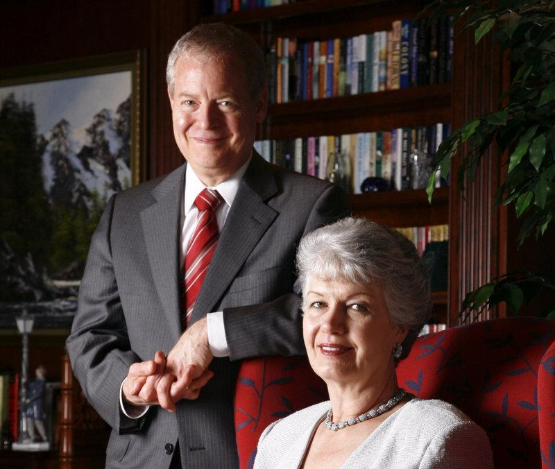 John Mulva and his wife, Miriam. The couple donated $60M to the University of Texas at Austin for its engineering and business buildings.
