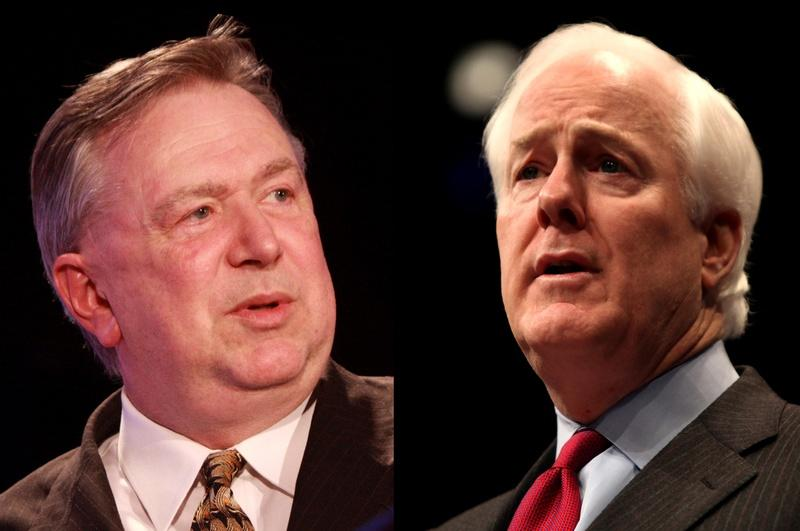 The election battle between Rep. Stockman and Sen. Cornyn never amounted to much.