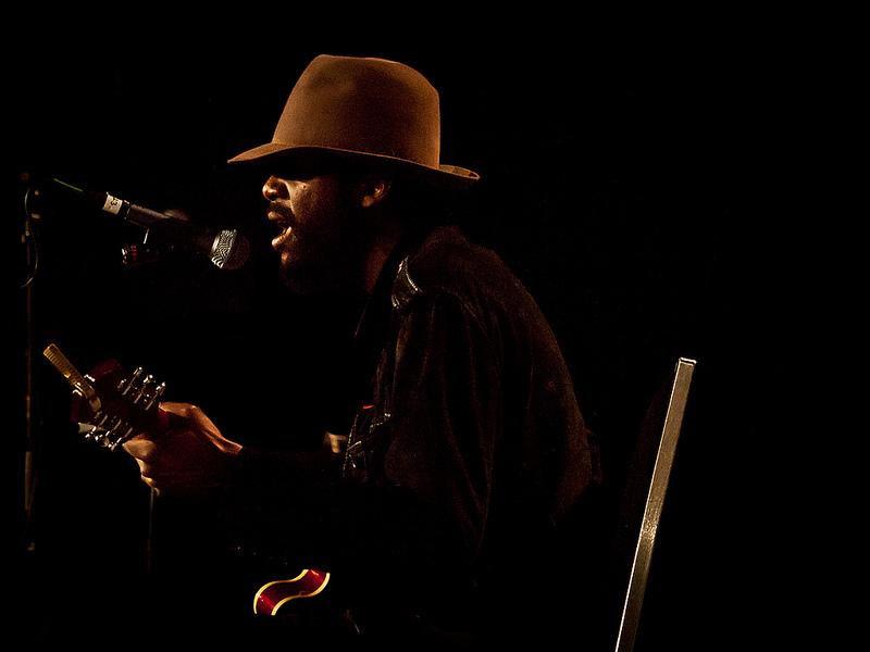 Gary Clark Jr. performs at South by Southwest 2012. Clark took home honors for Best Traditional R&B Performance