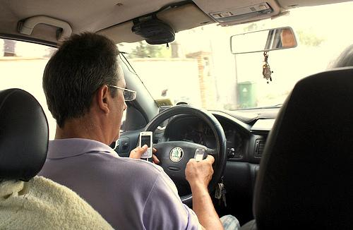 A new study from State Farm Insurance found that drivers over 65 are nearly as likely to be on smartphones as their teenage counterparts.