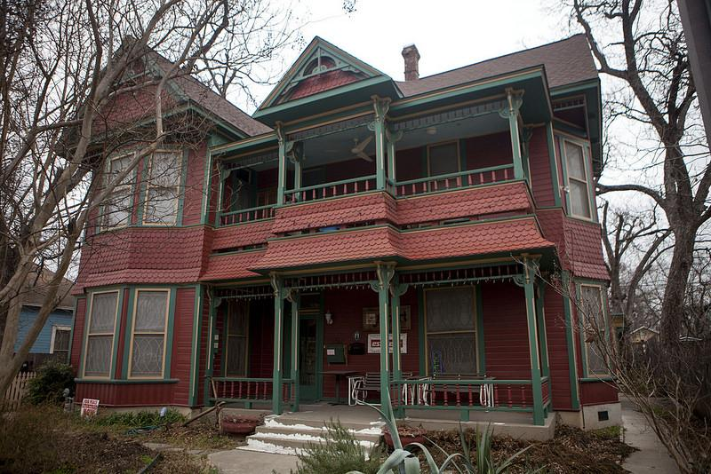 The Moreland House on the Tejano Healthy Walking Trail in East Austin.