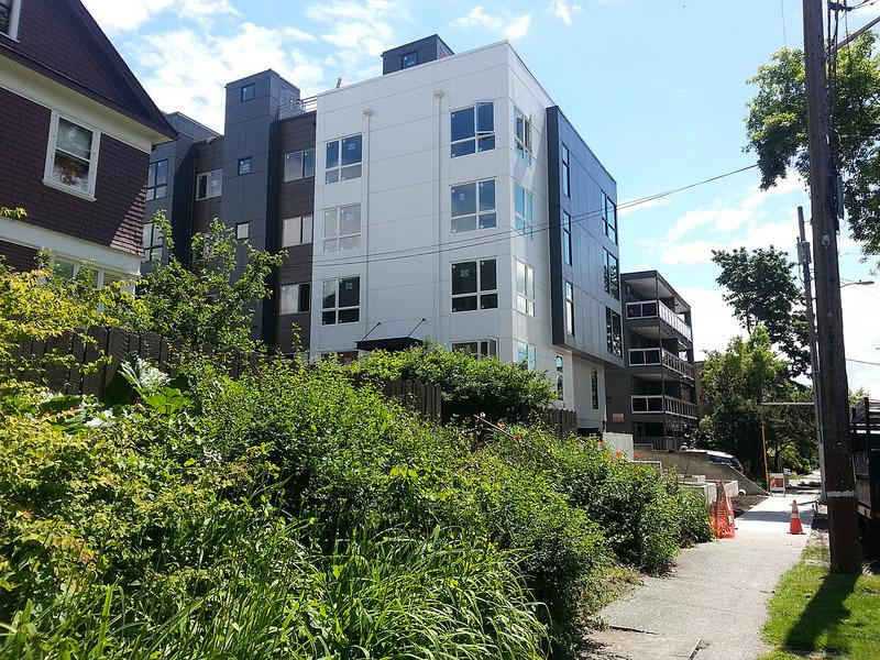 Another micro-unit development in Seattle.
