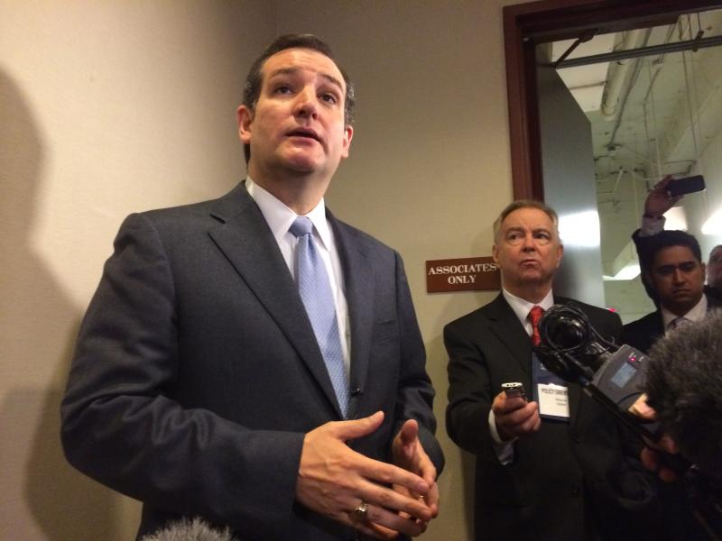 Sen. Ted Cruz (R) says Democrats are to blame for last government shutdown, and can control whether it happens again.