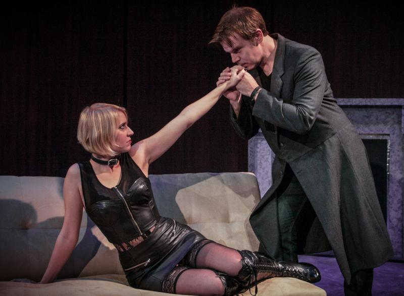 "Gray G. Haddock and Molly Karrasch in ""Venus in Fur"""
