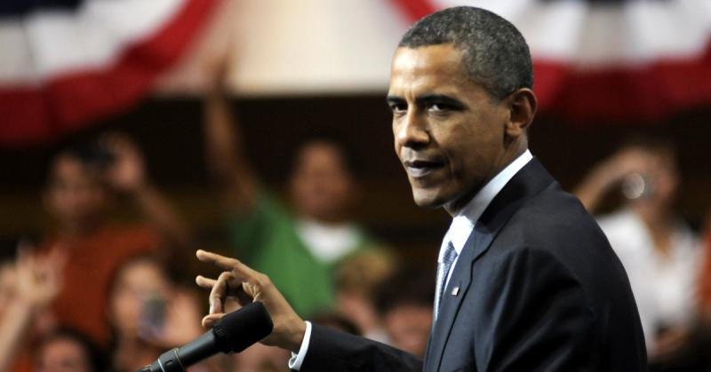 "President Barack Obama flashes the ""Hook Em"" sign during a UT appearance in 2010. President Obama apologized to a UT art history professor who took umbrage with the president's remarks about art history majors."