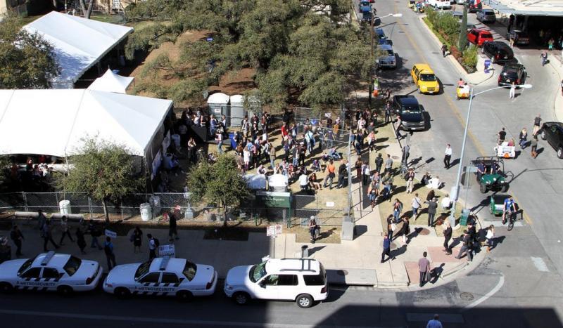 A SXSW event in 2013.