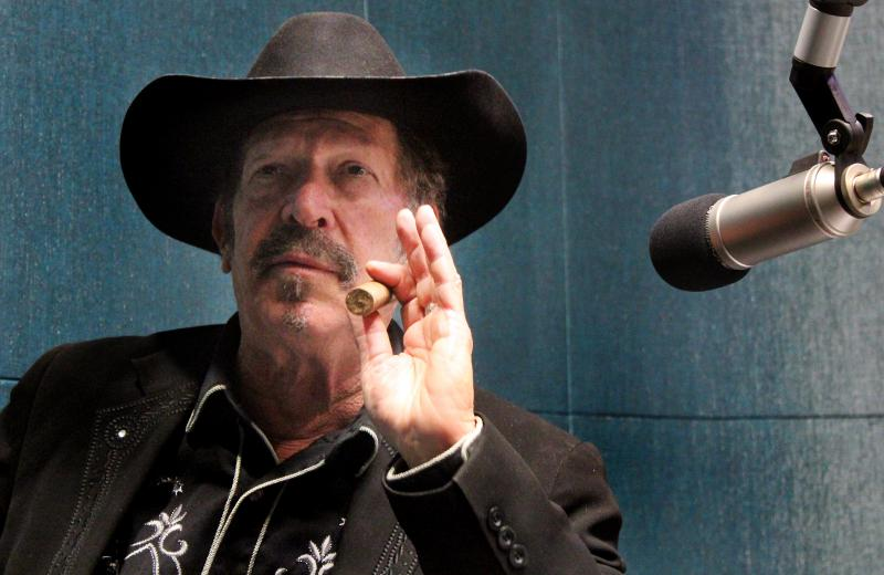 """There's nothing in this world more serious than a comedian when he's telling the truth,"" Kinky Friedman says."