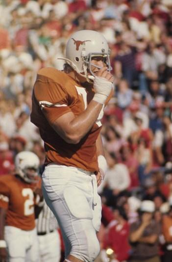In his time at Texas, Doug English established himself as one of the best defensive lineman to play for the Horns.