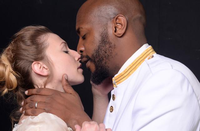 Sara Cormier and Marc Pouhé in 'Othello'