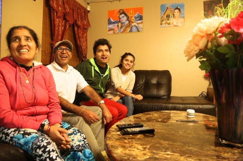 From left to right: Purna Bastola, Bhuwani Bastola, Bishnu Bastola and Ambika Bastola are refugees from Bhutan by way of Nepal. The Pflugerville residents are still learning about the Affordable Care Act.