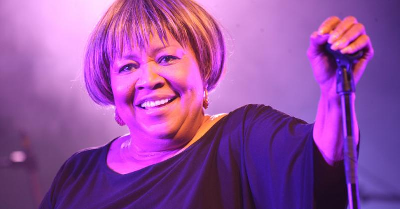 Mavis Staples at Austin City Limits fest in 2011.