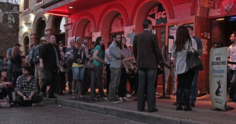 IFC's SXSW Film party, seen here in 2012, would definitely rate Code Red on the Avoid Humans app.
