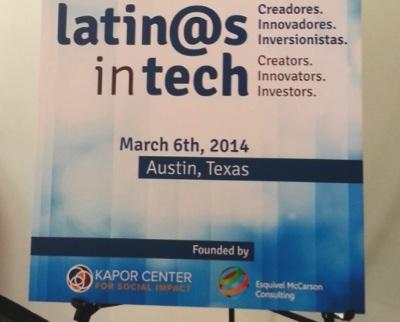 The first ever Latinos in Tech event, which took place on March 6, 2014, was founded by the Kapor Center and Esquivel McCarson Consulting.
