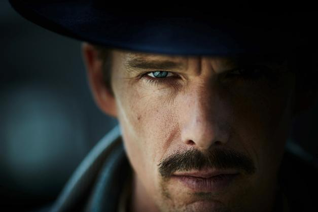 "Ethan Hawke says it's hard to say what ""Predestination"" is about. He calls it an ""old-fashioned"" sci-fi."