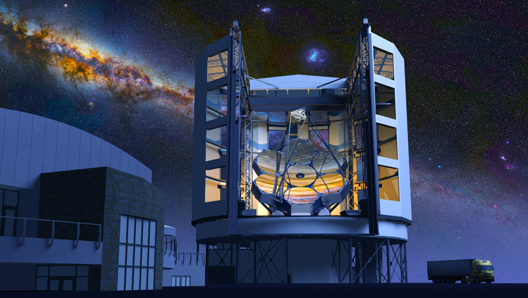 The Giant Megellan Telescope is an international project to build the largest telescope of its kind.