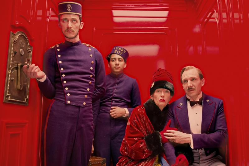 "As usual, Anderson invented a world for ""The Grand Budapest Hotel."""