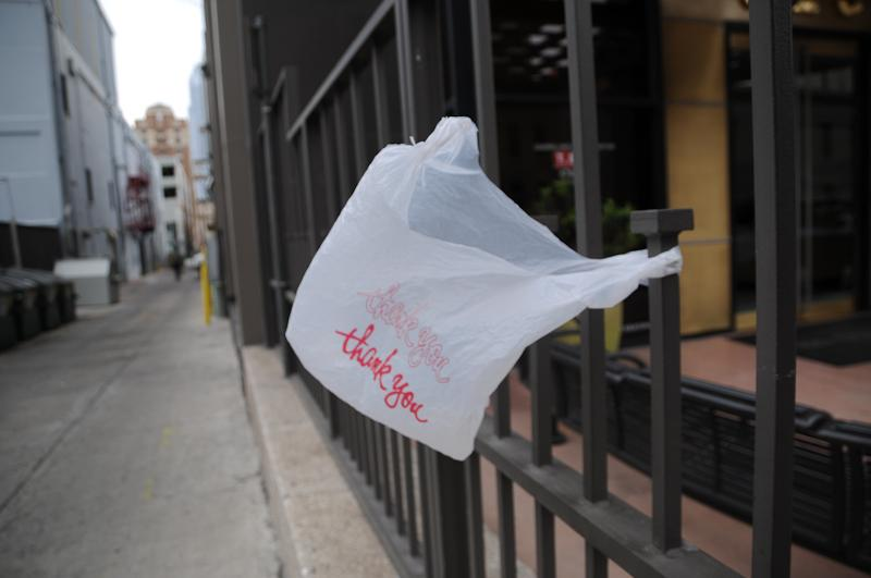 State Rep. Dan Flynn has questioned Attorney General Greg Abbott about whether plastic bag bans like Austin's are in compliance with state's health and safety laws.