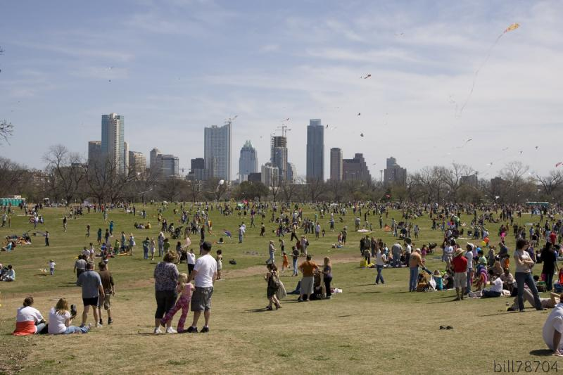 The Zilker Park Kite Festival has been postponed to March 9 due to weather