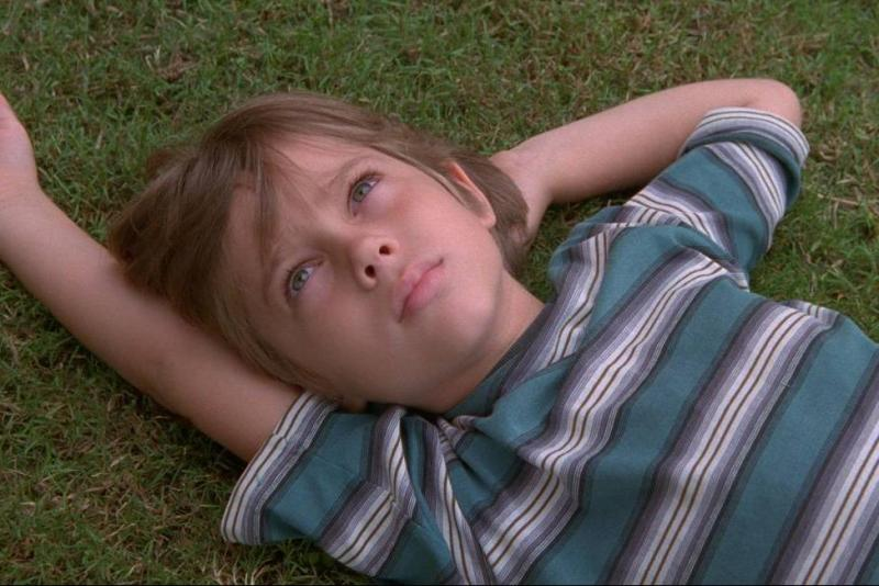 """Boyhood"" was filmed over 12 years. It follows a family as they all grow up."