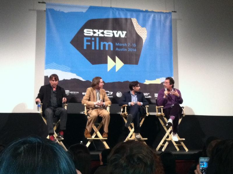 Richard Linklater moderated a SXSW Q&A featuring Anderson, actor Jason Schwartzman and music supervisor Randall Poster.