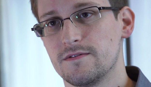 Video still from Snowden's interview with Glenn Greenwald and Laura Poitras on June 6, 2013