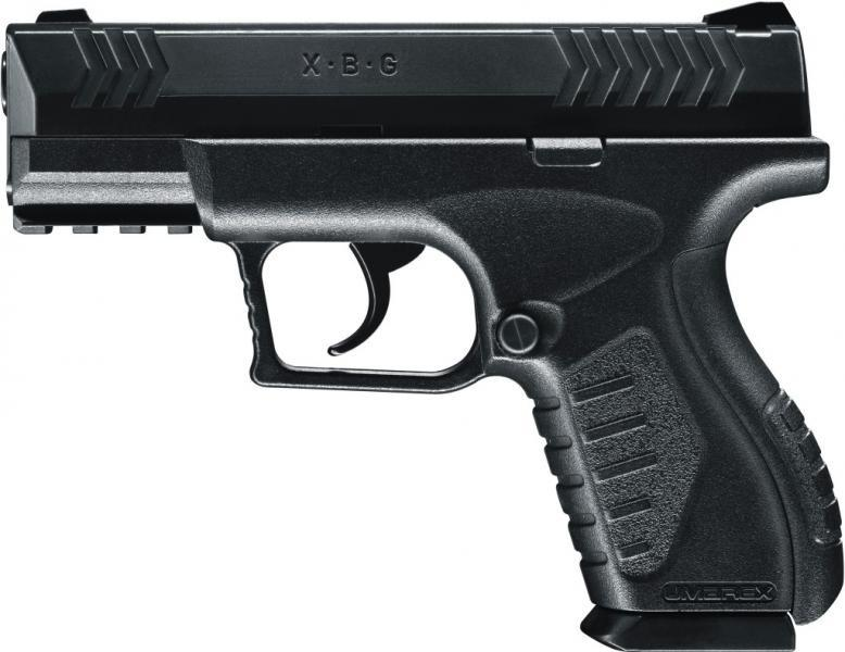 A Umarex model XBG pellet/BB pistol, the type Austin Police say was held by man when he was shot.