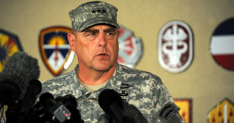 Lt. Gen. Mark Milley gave an update to press last night on the Fort Hood shooting at the Fort Hood main gate.