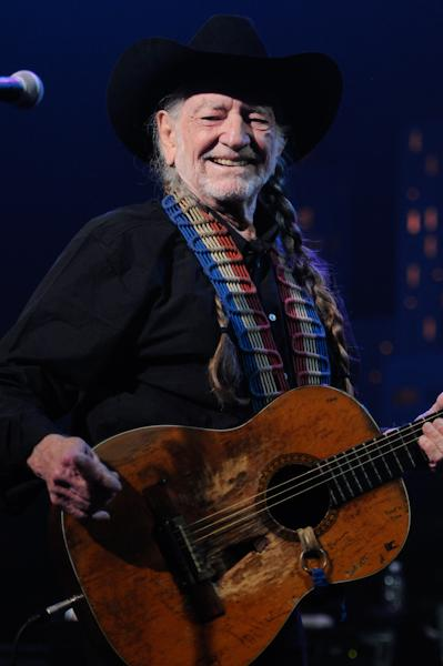 "Willie Nelson kicked off the show with ""Whiskey River,"" first performed on ACL 40 years ago"