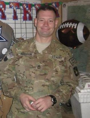 Sgt. 1st Class Daniel Michael Ferguson was killed in Wednesday's shooting at Fort Hood.