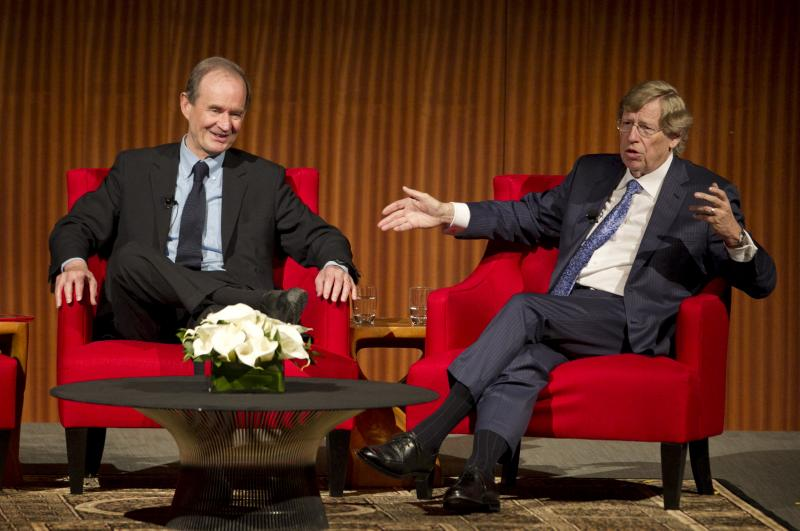 David Boies and Ted Olson talk about marriage equality at LBJ Civil Rights Summit.