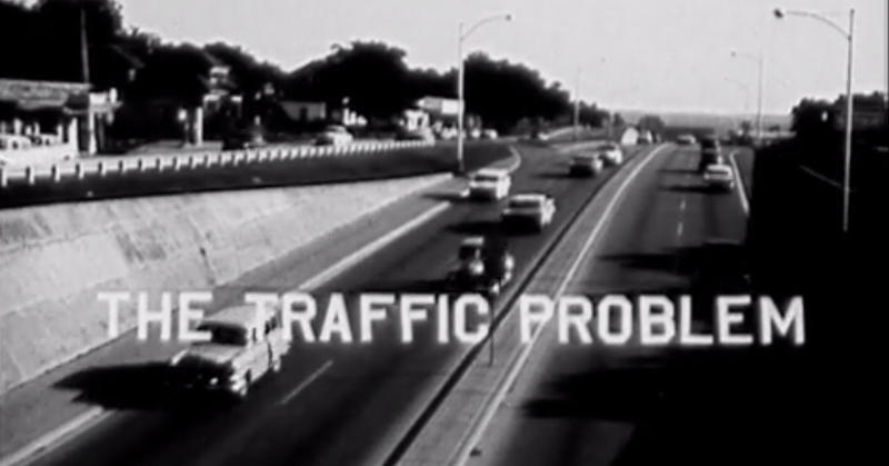 Yes, this qualified as problem traffic on I-35 back in the 1960s.