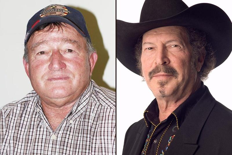 Democrats Jim Hogan (left) and Kinky Friedman are in a runoff for the party's Agriculture Commissioner nomination.