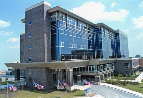 The Olin E. Teague Veterans' Medical Center in Temple, Texas.