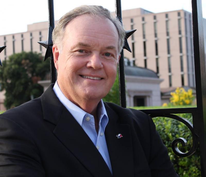 Republican Railroad Commissioner candidate Wayne Christian.