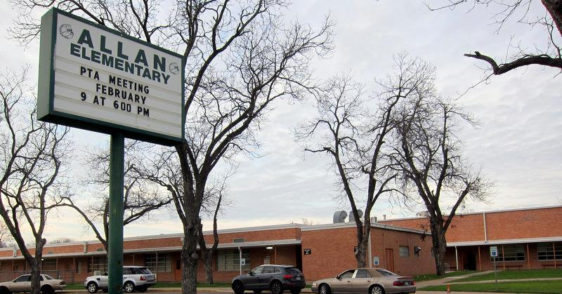 Allan Elementary has been empty this school year, but is ready to be retrofitted with a childhood center.