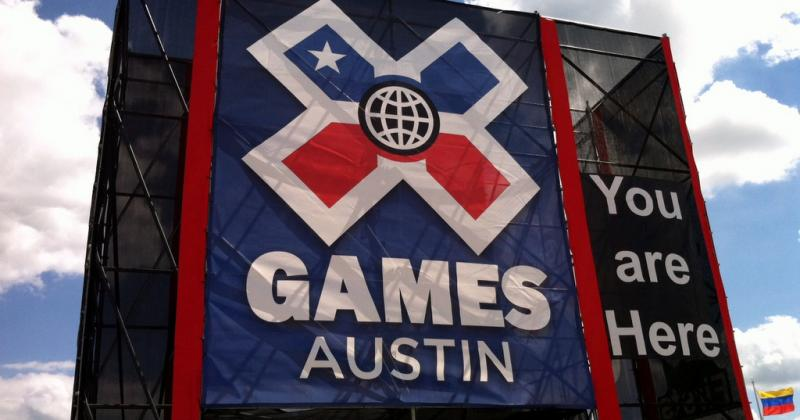 X marks the spot at the Circuit of the Americas for the X Games Austin – the Capital City's first.