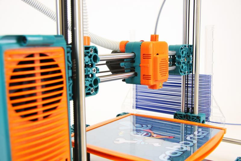 A 3D As tools like 3D printers (pictured) drop in price, they increasingly fuel a maker culture, according to UT engineer Scott Allen.