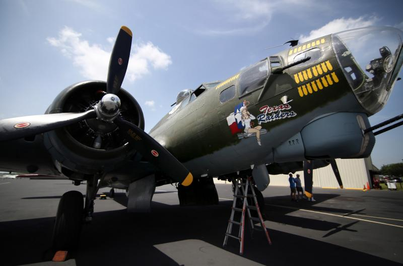 This vintage bomber is one of just nine remaining flyable B-17s left in the world today.