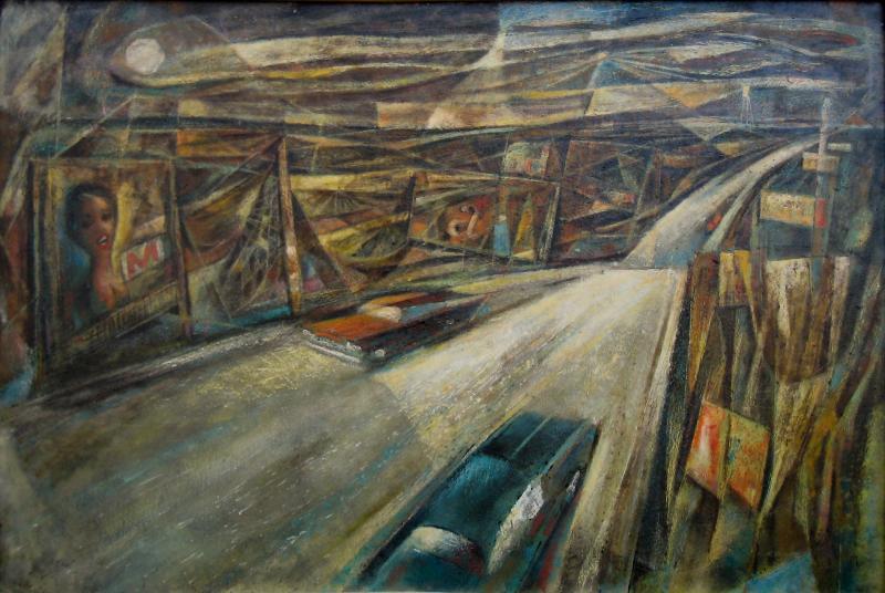 Ralph White, The Road to San Antonio from Austin, 1950's