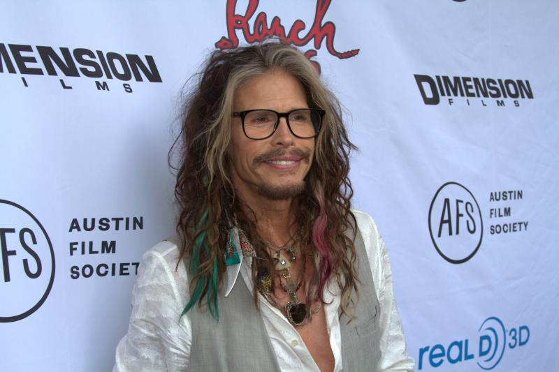 Rock star Steven Tyler.